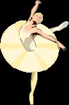 バレエダンサーのイラスト3