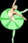 バレエダンサーのイラスト4