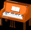ピアノのイラスト3