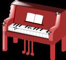 ピアノのイラスト4