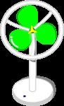 扇風機のイラスト3