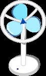 扇風機のイラスト4