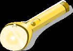 懐中電灯のイラスト2
