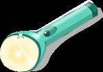 懐中電灯のイラスト3