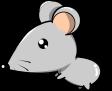 ネズミのイラスト4