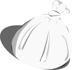 ゴミ袋のイラスト1