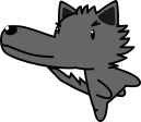 オオカミのイラスト4