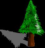 木のイラスト9