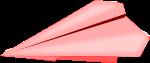 紙飛行機のイラスト2