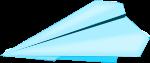 紙飛行機のイラスト4