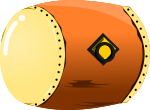 太鼓のイラスト2