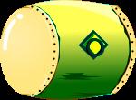 太鼓のイラスト3