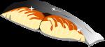焼き魚のイラスト1
