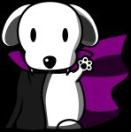 犬ヴァンパイアのイラスト1