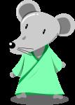 ネズミのイラスト2020-3
