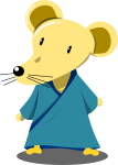 ネズミのイラスト2020-4