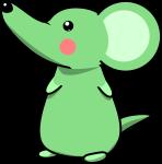 ネズミのイラスト2020-10
