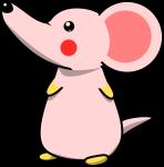 ネズミのイラスト2020-8