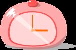 置時計のイラスト1