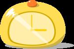 置時計のイラスト2