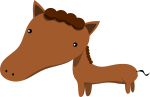 馬のイラスト8