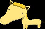 馬のイラスト9