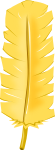 羽根装飾のイラスト2