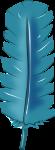 羽根装飾のイラスト4