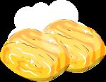 卵焼きのイラスト4
