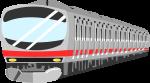 電車のイラスト1