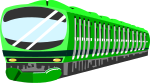 電車のイラスト4