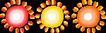 太陽ラインのイラスト1