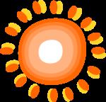 太陽装飾のイラスト3