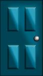 ドアのイラスト1