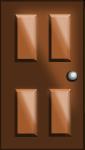 ドアのイラスト2