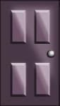 ドアのイラスト4