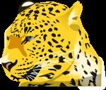 豹のイラスト2