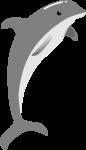 イルカのイラスト9