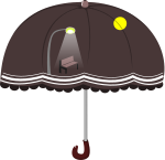 傘のイラスト11