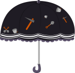 傘のイラスト12