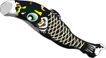 鯉のぼりのイラスト3