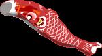 鯉のぼりのイラスト4