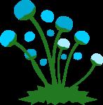 道端の花のイラスト3