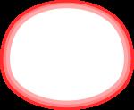 枠線のイラスト6(白塗り)
