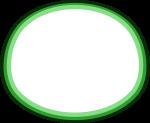 枠線のイラスト7(白塗り)