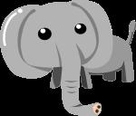 ゾウのイラスト10