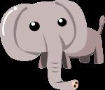 ゾウのイラスト11