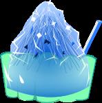 かき氷のイラスト6