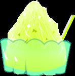 かき氷のイラスト7