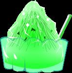 かき氷のイラスト8